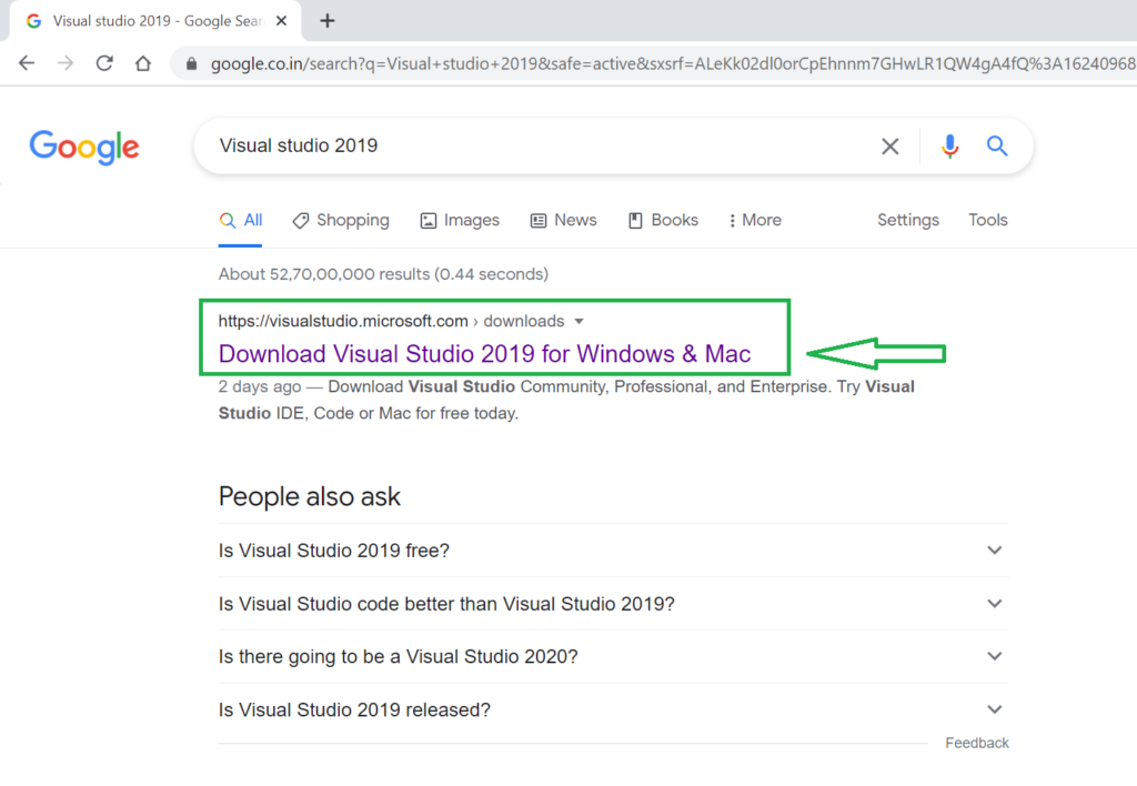 Visual Studio 2019